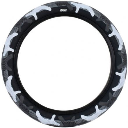 "Cult 20"" Vans Tyre - Pair of Grey Camo With Black Sidewall 2.40"""